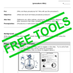 free-tools-contractor-procedure-instruction-template-form